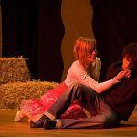 Was passiert auf dem Heuboden? Wendla und Melchior kommen sich sehr nah.