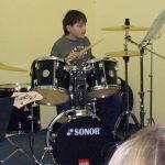 Auch das Schlagzeug darf in der Musicalband nicht fehlen!