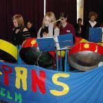 """Die Steelband """"Hot Pans"""""""